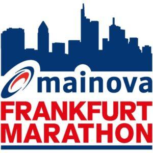 Mainova Frankfurt marathon logo