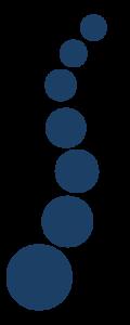 blue dots boarder