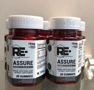 re-assure pain relief gummies