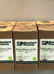 standard process tuna omega-3 oil dietary supplement