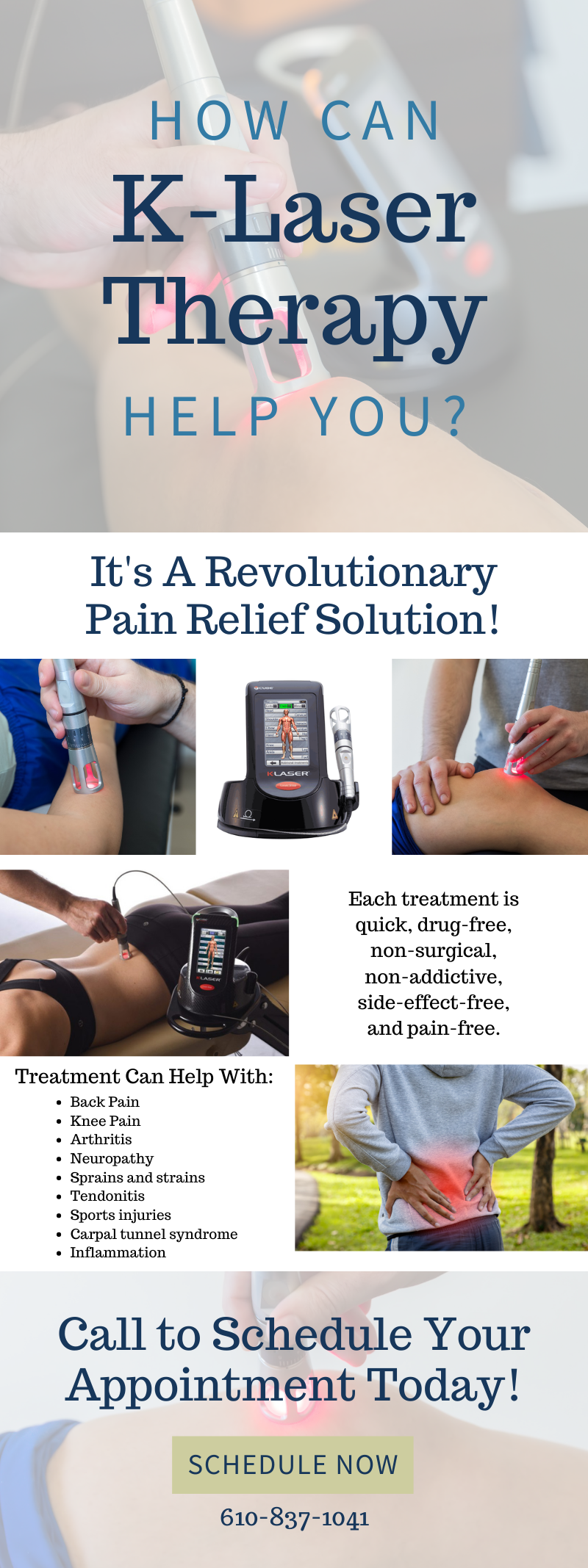 How Can K-Laser Therapy Help You? 1